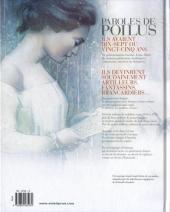 Verso de Paroles de Poilus -1- Lettres et Carnets du front 1914-1918