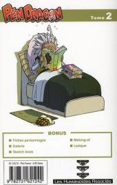 Verso de Pen Dragon -2- Tome 02