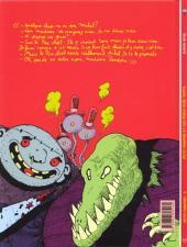 Verso de Petit vampire -6- Petit vampire et les Pères Noël verts