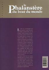 Verso de Le phalanstère du bout du monde - Le Phalanstère du bout du monde