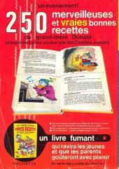 Verso de Picsou Magazine -11- Picsou Magazine N°11
