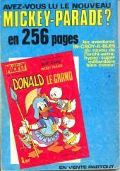 Verso de Picsou Magazine -14- Picsou Magazine N°14