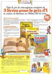 Verso de Picsou Magazine -158- Picsou Magazine N°158