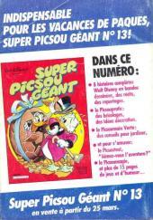 Verso de Picsou Magazine -171- Picsou Magazine N°171