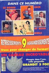 Verso de Picsou Magazine -299- Picsou Magazine N°299