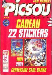 Verso de Picsou Magazine -350- Picsou Magazine N°350