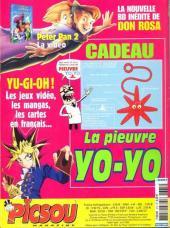 Verso de Picsou Magazine -375- Picsou Magazine N°375