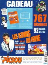 Verso de Picsou Magazine -380- Picsou Magazine N°380