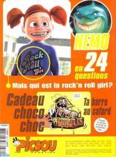 Verso de Picsou Magazine -382- Picsou Magazine N°382
