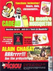 Verso de Picsou Magazine -384- Picsou Magazine N°384