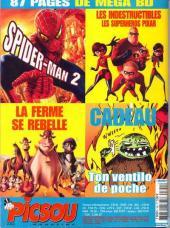 Verso de Picsou Magazine -390- Picsou Magazine N°390