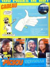 Verso de Picsou Magazine -391- Picsou Magazine N°391