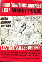 Verso de Picsou Magazine -45- Picsou Magazine N°45