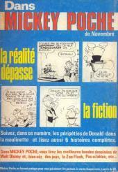 Verso de Picsou Magazine -57- Picsou Magazine N°57