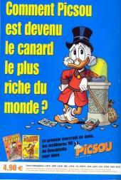 Verso de Picsou Magazine Hors-Série -3- Les trésors de Picsou