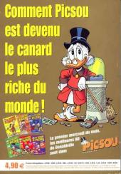 Verso de Picsou Magazine Hors-Série -7- Les trésors de Picsou