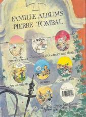 Verso de Pierre Tombal -7- Cas d'os surprise