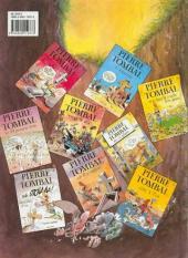 Verso de Pierre Tombal -9- Voyage de n'os