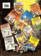 Verso de Pierre Tombal -12- Os Courent