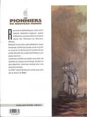 Verso de Les pionniers du Nouveau Monde -11- Le piège de la Rochelle
