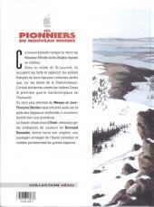 Verso de Les pionniers du Nouveau Monde -12- Le murmure des grands arbres