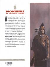 Verso de Les pionniers du Nouveau Monde -13- Les chemins croches