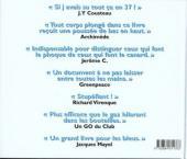 Verso de Illustré (Le Petit) (La Sirène / Soleil Productions / Elcy) - La Plongée illustrée de A à Z