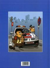 Verso de Les policiers -1- Amende amère