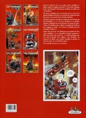 Verso de Les pompiers -6- Un homme et une flamme