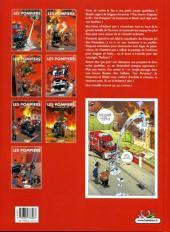 Verso de Les pompiers -7- Graine de héros