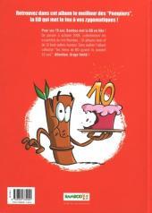 Verso de Les pompiers -HS- Best Of 10 ans Bamboo
