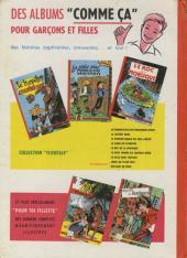 Verso de Pompon Rouge (Les Aventures du) -3- Le signe du scorpion