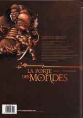 Verso de La porte des mondes -1- La muraille