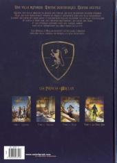 Verso de Les princes d'Arclan -4- Le Sans-Nom