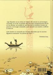 Verso de Les princesses Égyptiennes -1- Première partie
