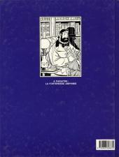 Verso de Professeur Stratus -1- Le tombeau des neiges