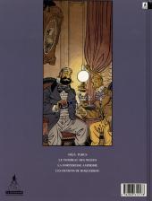 Verso de Professeur Stratus -3- Les démons de Roquebrou