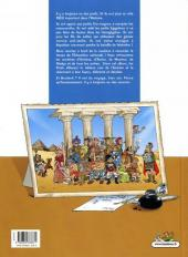 Verso de Les profs refont l'histoire - Tome 1
