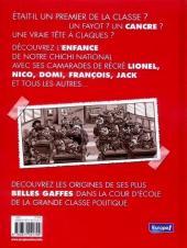 Verso de Le p'tit... -1- Chirac, tout p'tits déjà cancres ?