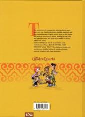 Verso de Les quatre Quarts -1- La Taverne d'Ali Baba