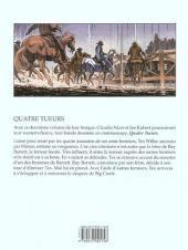 Verso de Tex - Quatre tueurs -2- Les frères Barrett