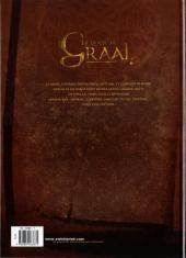 Verso de La quête du Graal -1- Arthur Pendragon