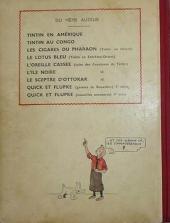 Verso de Quick et Flupke -2- (Casterman, N&B) -5- Quick et Flupke gamins de Bruxelles (5e série)