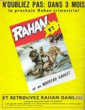 Verso de Rahan (1e Série - Vaillant) -1- Le coutelas d'ivoire