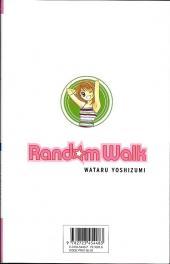 Verso de Random walk -1- Tome 1