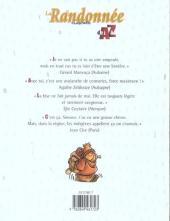 Verso de Illustré (Le Petit) (La Sirène / Soleil Productions / Elcy) -a2005- La Randonnée illustrée de A à Z