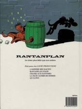 Verso de Rantanplan -4- Le clown