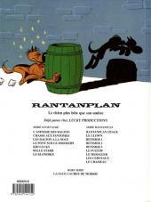 Verso de Rantanplan -11- Le chameau