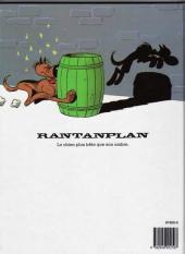 Verso de Rantanplan -3- Rantanplan otage