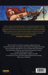 Verso de Red Sonja -1- La malédiction de Gathia